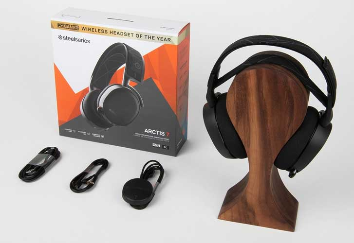 The Steelseries Arctis 7 Features