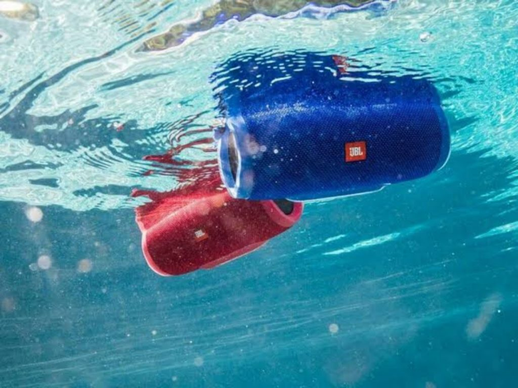 IP rating of the waterproof speakers
