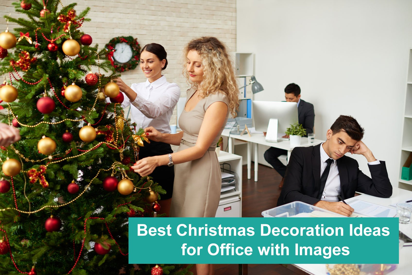Best Christmas Decoration Ideas for Office with Images
