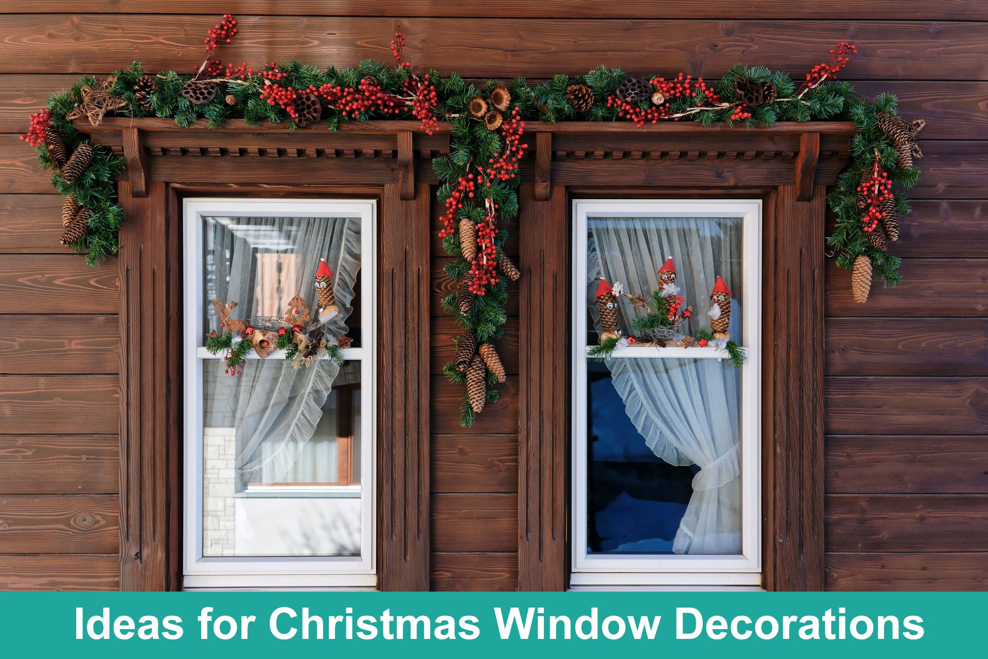 Best Ideas for Christmas Window Decorations