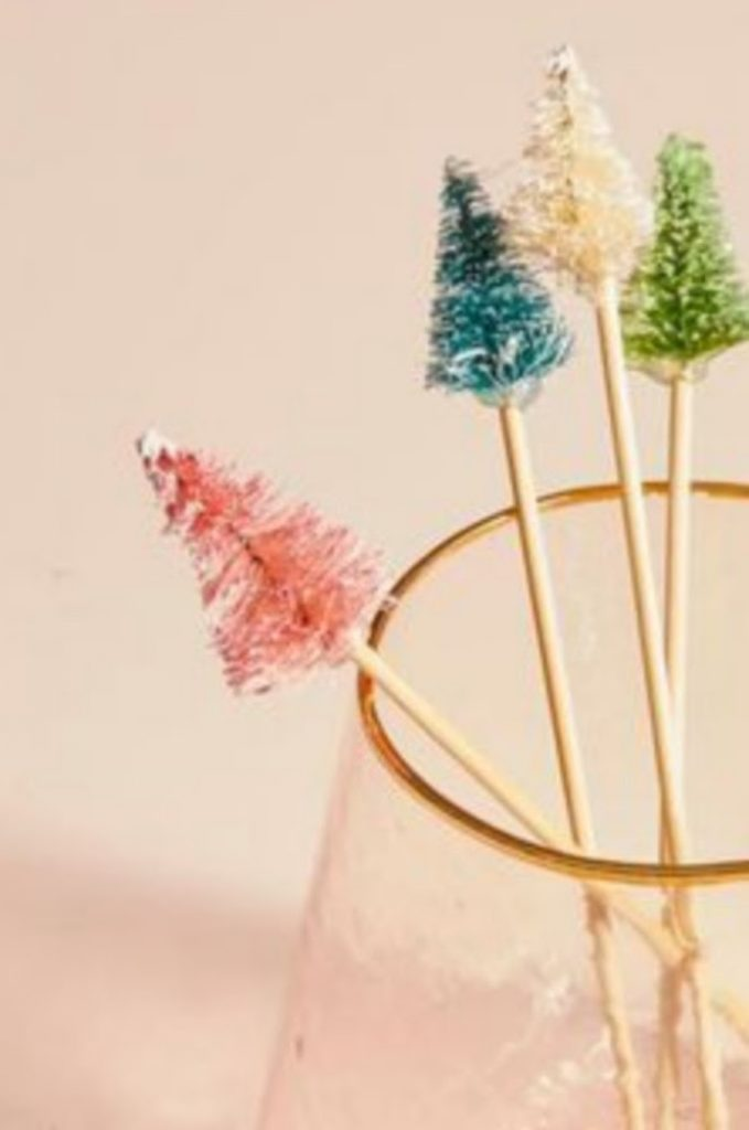 Christmas Drink Picks - Craft Ideas For Christmas Table Decorations