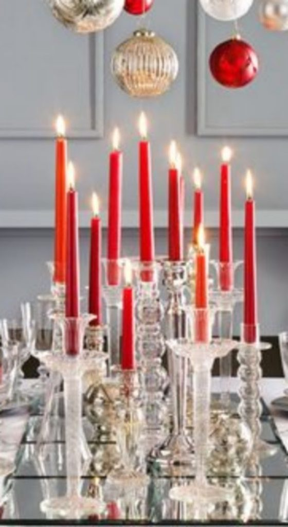 Candlesticks Galore - Craft Ideas For Christmas Table Decorations