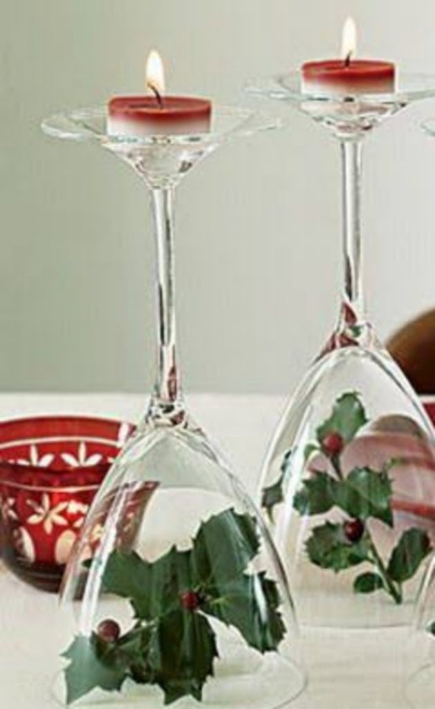 Yuletide Candelabra - Craft Ideas For Christmas Table Decorations
