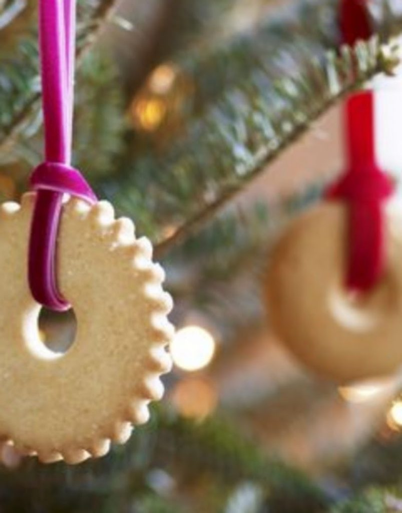 Butter Cookie Ornament - Craft Ideas For Christmas Ornaments