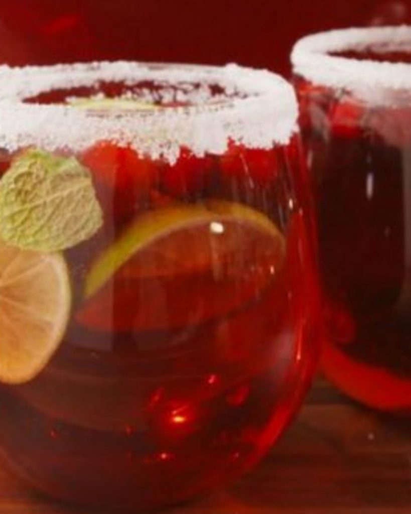 Stir Some Punch - Best Ideas For Christmas Party Decorations