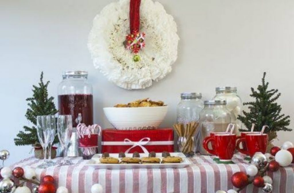 Set Up A Hot Cocoa Stand - Best Ideas For Christmas Party Decorations