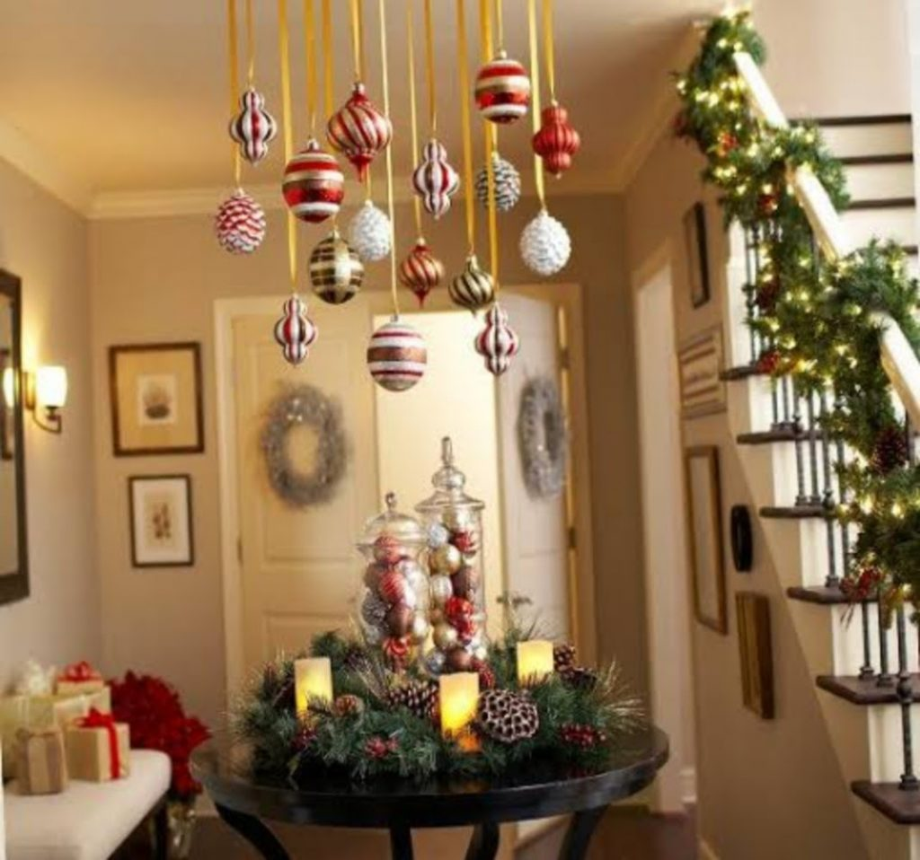 Cover the Ceiling - Best Ideas For Christmas Party Decorations