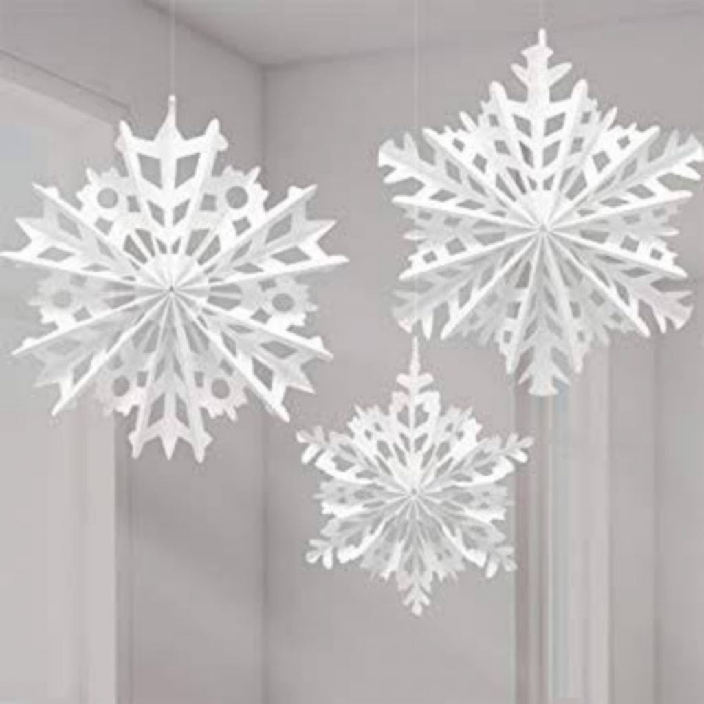 Decorate the Cubicles with Snowflakes - Best Christmas Decoration Ideas for Office