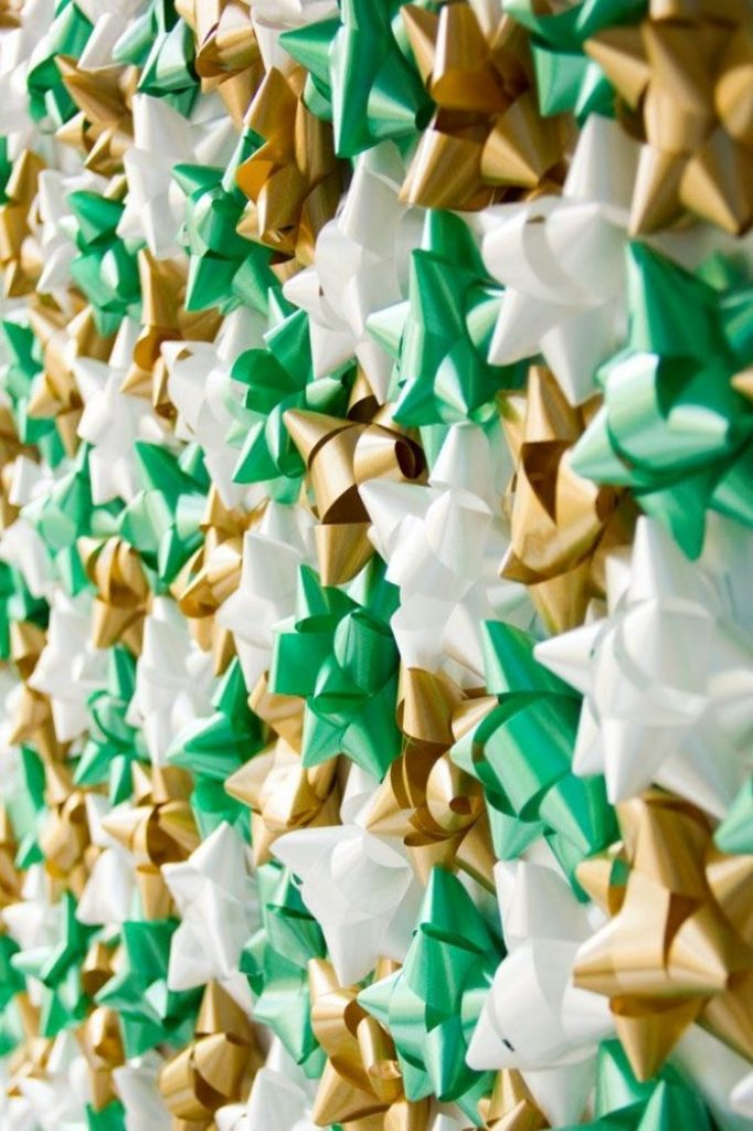 Hang a Photo Backdrop - Best Ideas For Christmas Party Decorations