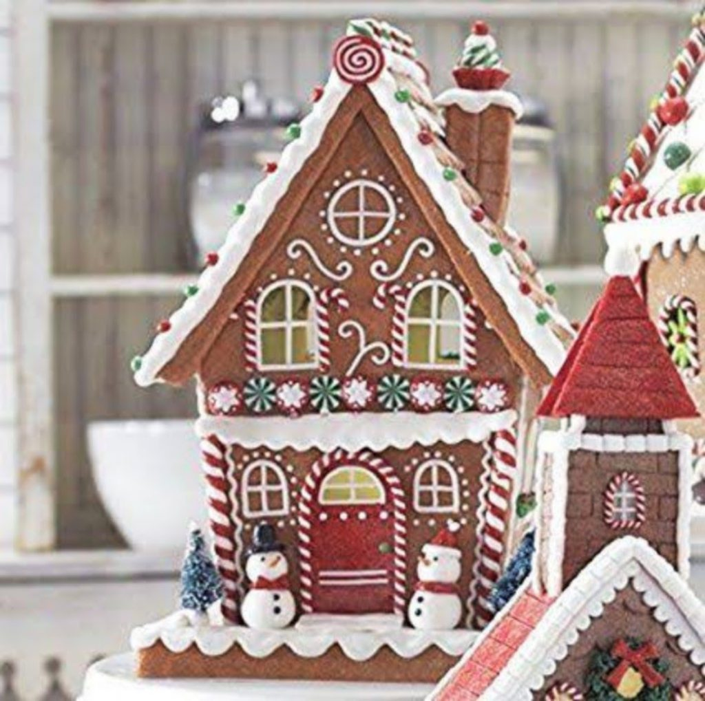 Elaborate Gingerbread House - Christmas Party Decoration Ideas For Schools
