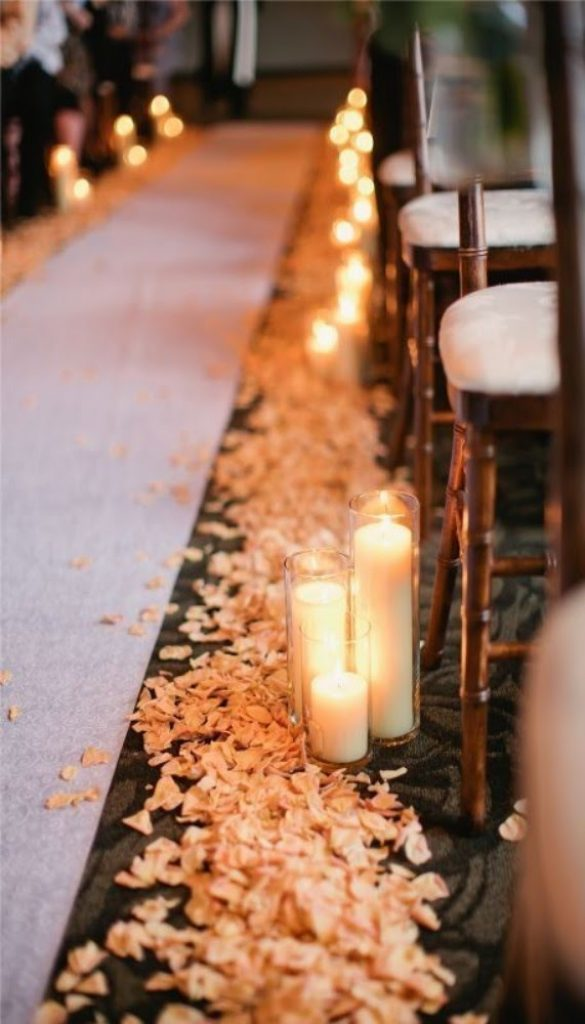 Lit With Petals - Christmas Flower Decorations For Church