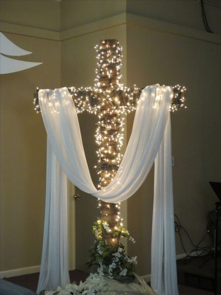 The Lighted Blessing - Christmas Decorations For Church Hall
