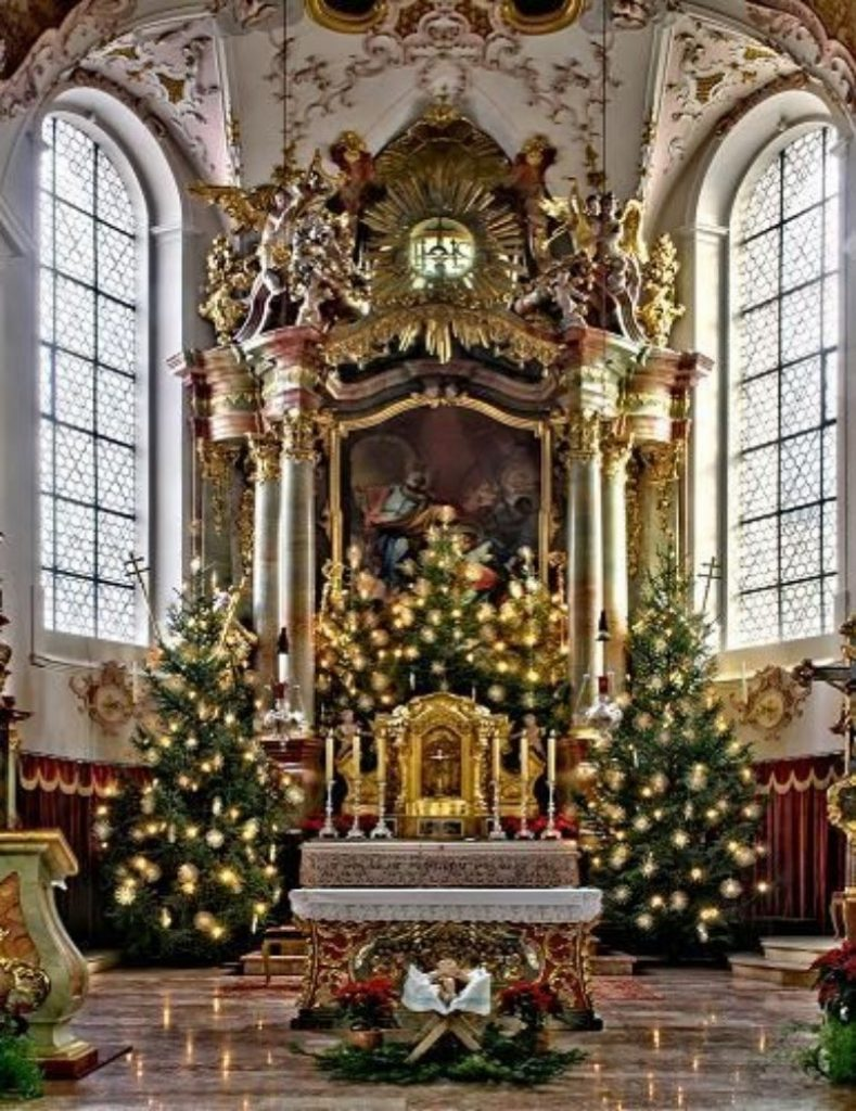 Glowing Altar Decoration - Christmas Tree Decorations For Church