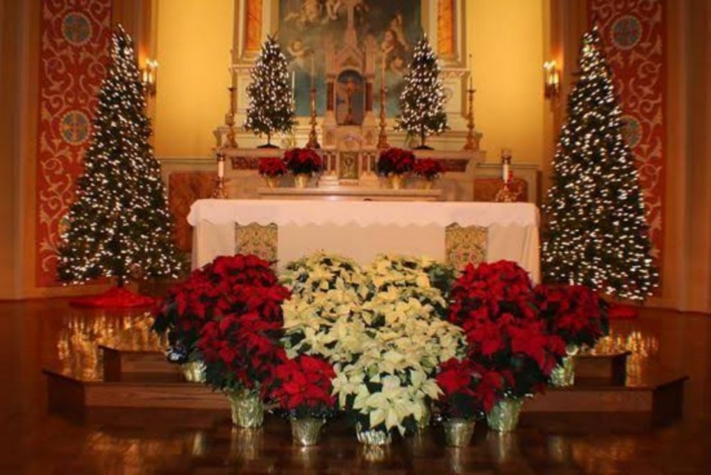 Inviting Church Decoration - Christmas Tree Decorations For Church