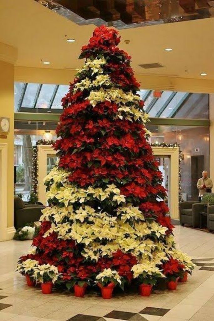 Timeless Cheerful Reds - Christmas Tree Decorations For Church