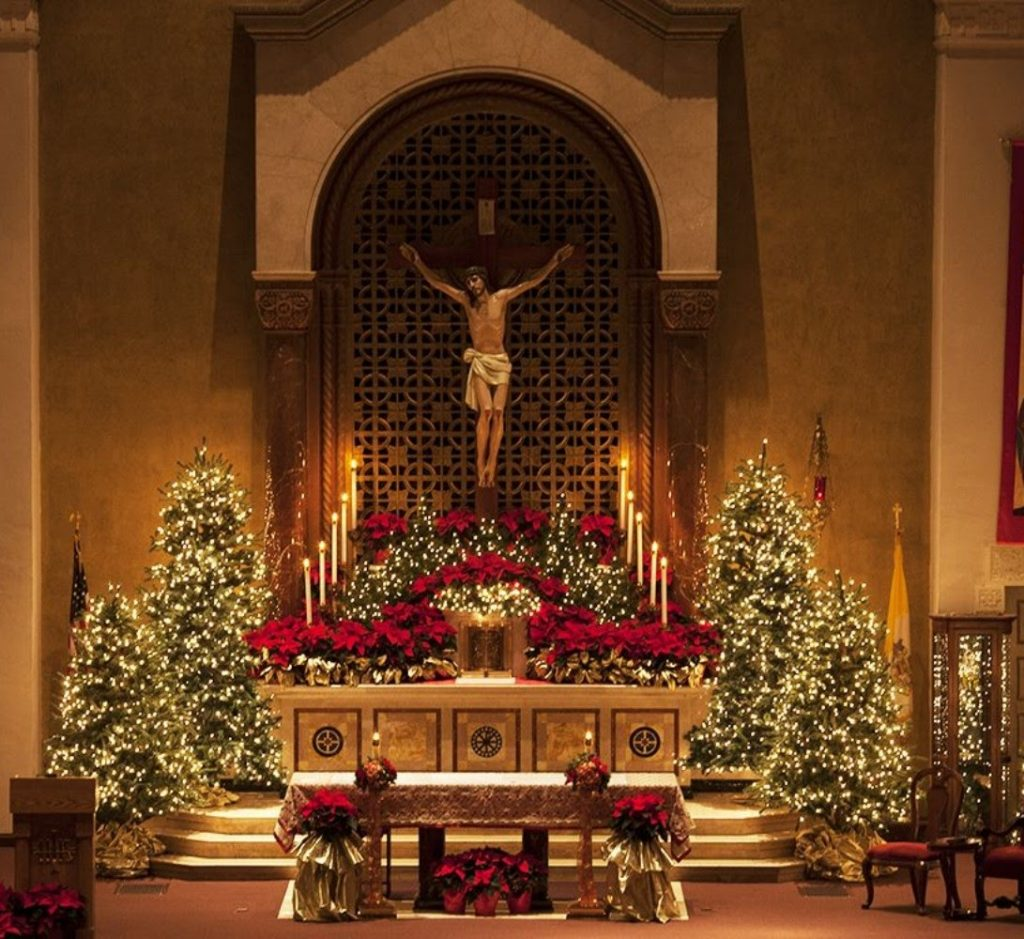Let Glow The Tree - Christmas Tree Decorations For Church