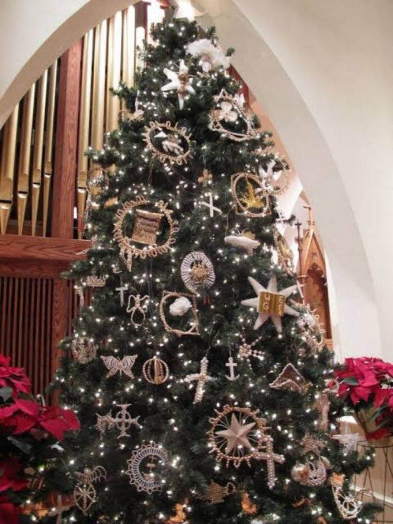 Winter Ornaments - Christmas Tree Decorations For Church