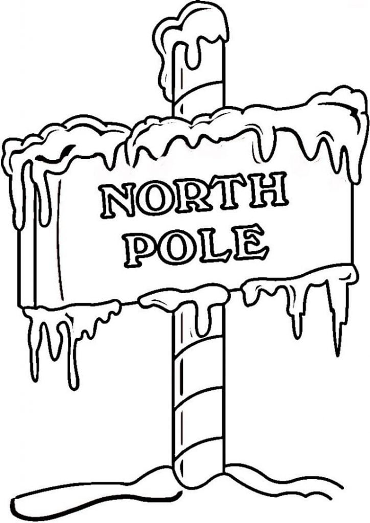 You're the North Pole