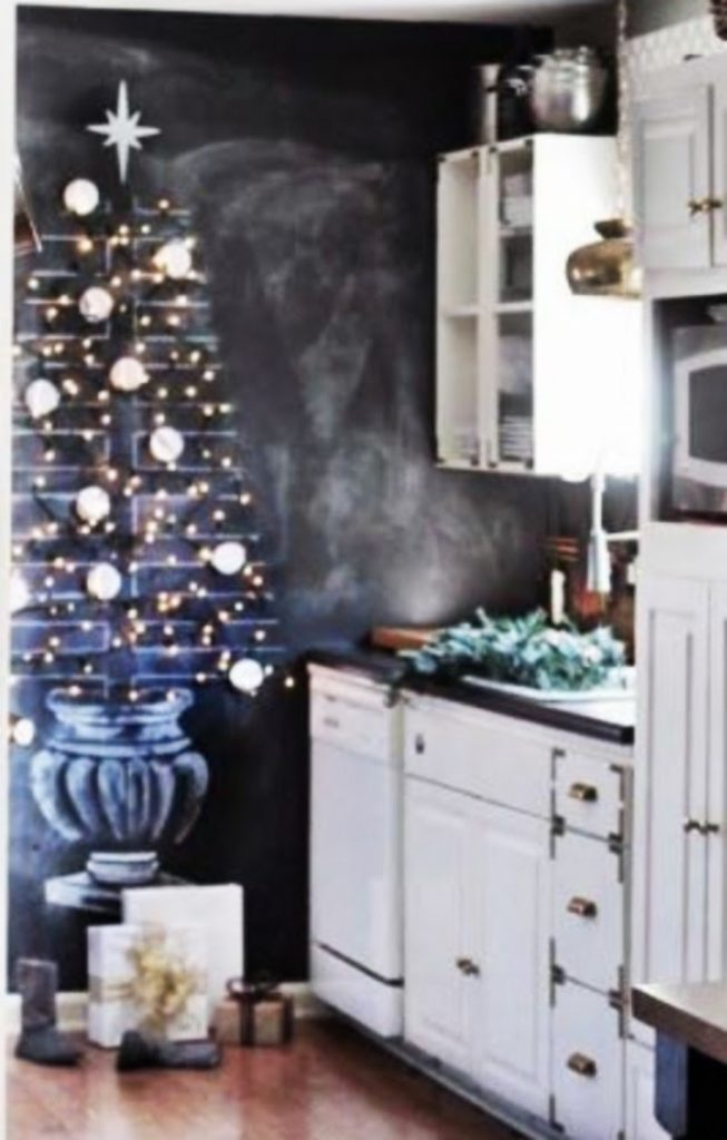 Get Your Artist On - Home With Christmas Decorations