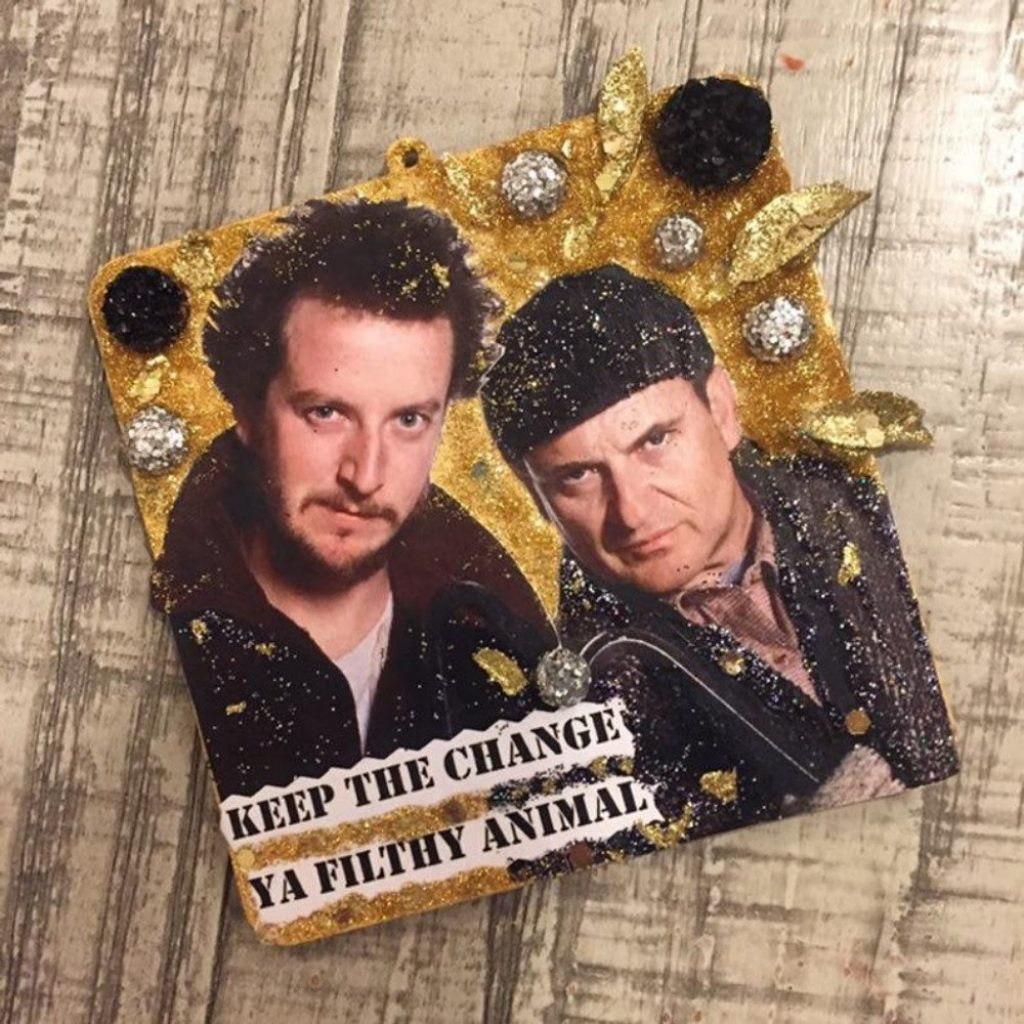 Wet Bandits Magnet or Christmas Tree Ornament