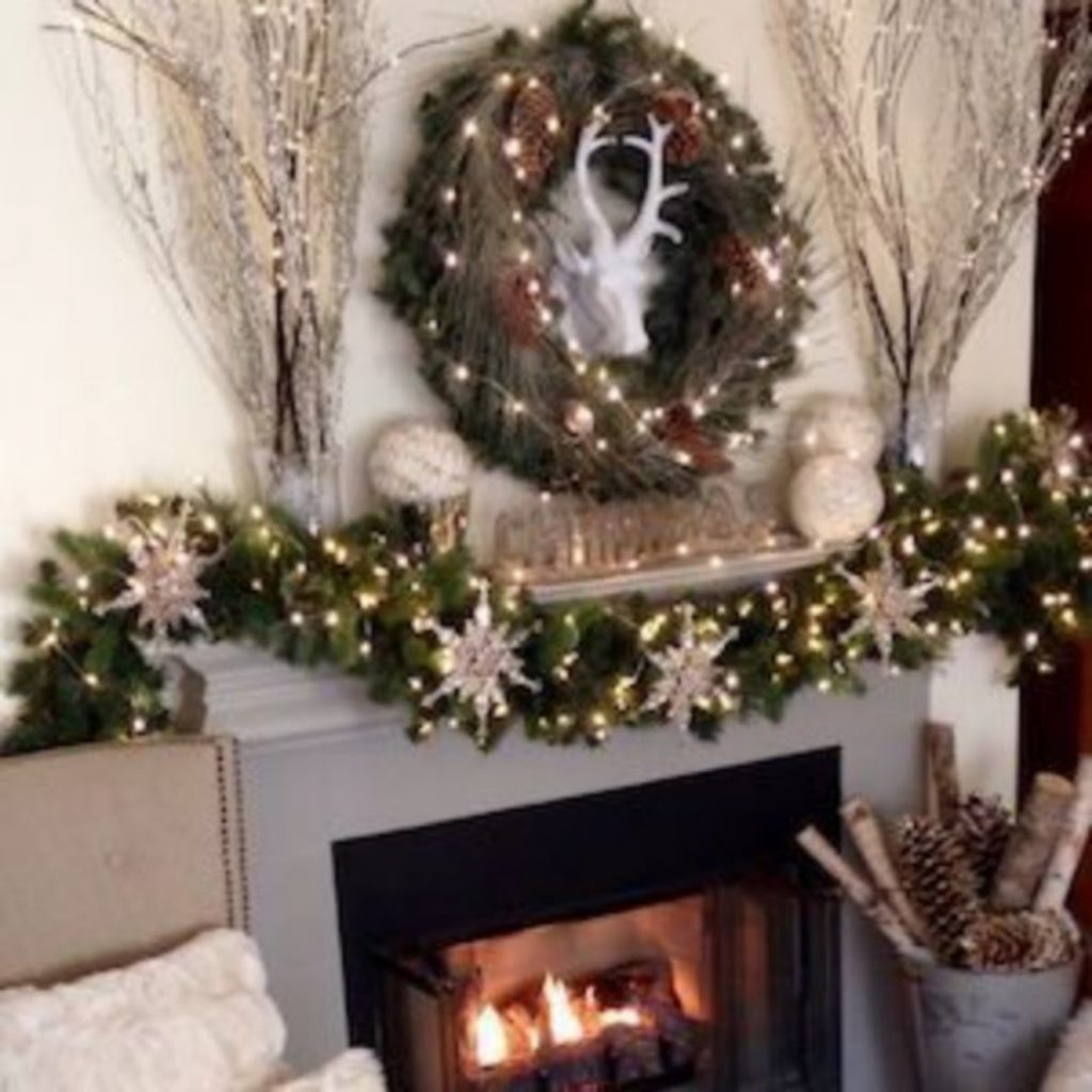 Fairy Theme - Home With Christmas Decorations