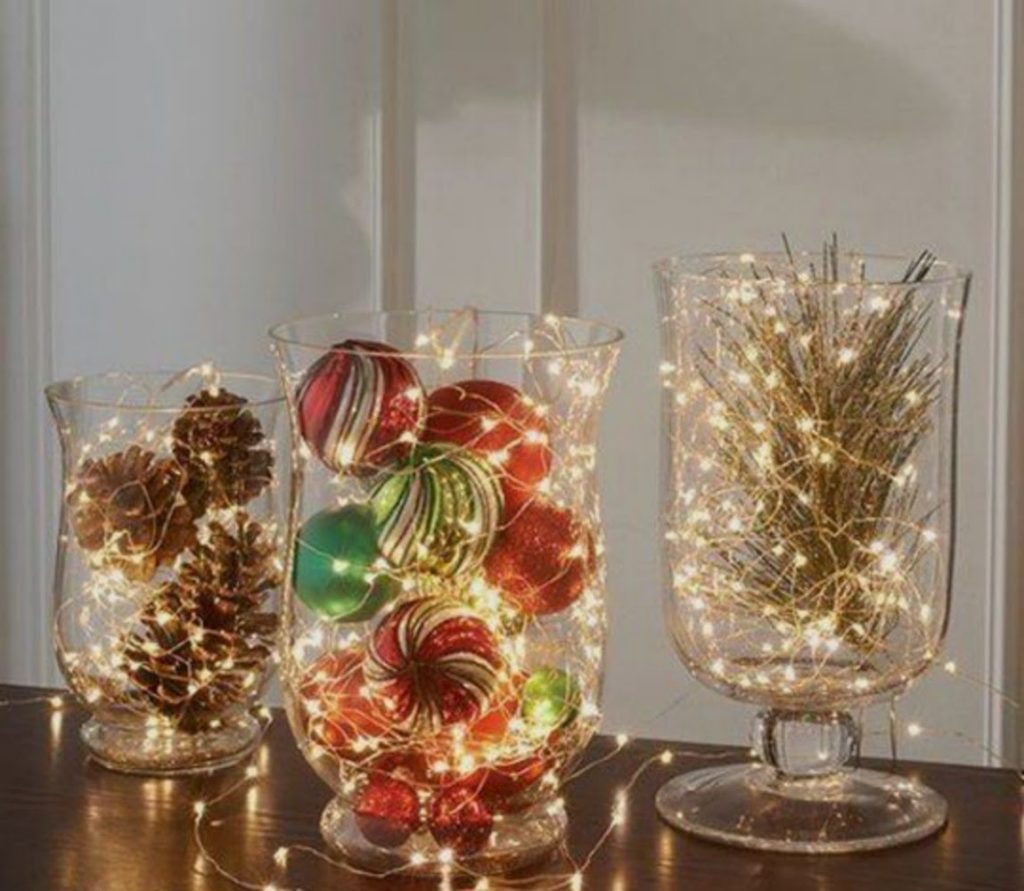 Brighter Mantle - Home With Christmas Decorations