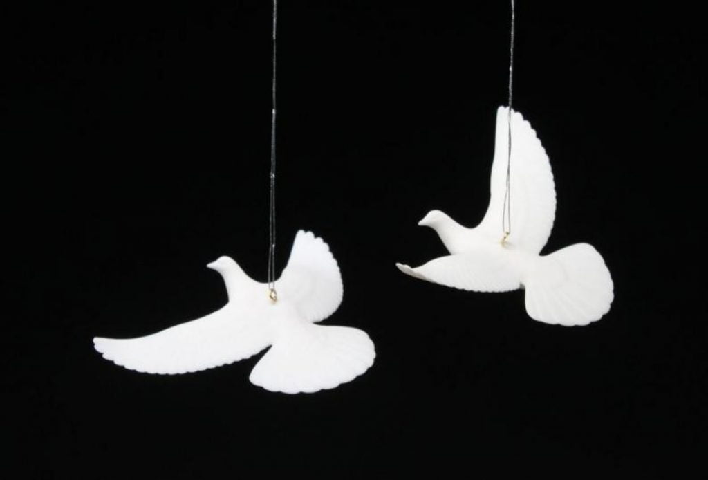 Dove Ornament - Home With Christmas Decorations