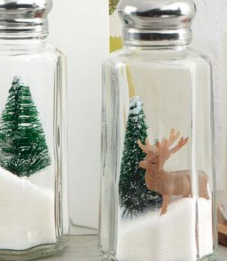 Holiday Shakers - DIY 3D Christmas Decorations