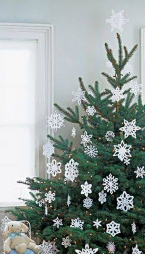 Snowflake It Up - DIY Christmas Decorations Cardboard And Paper
