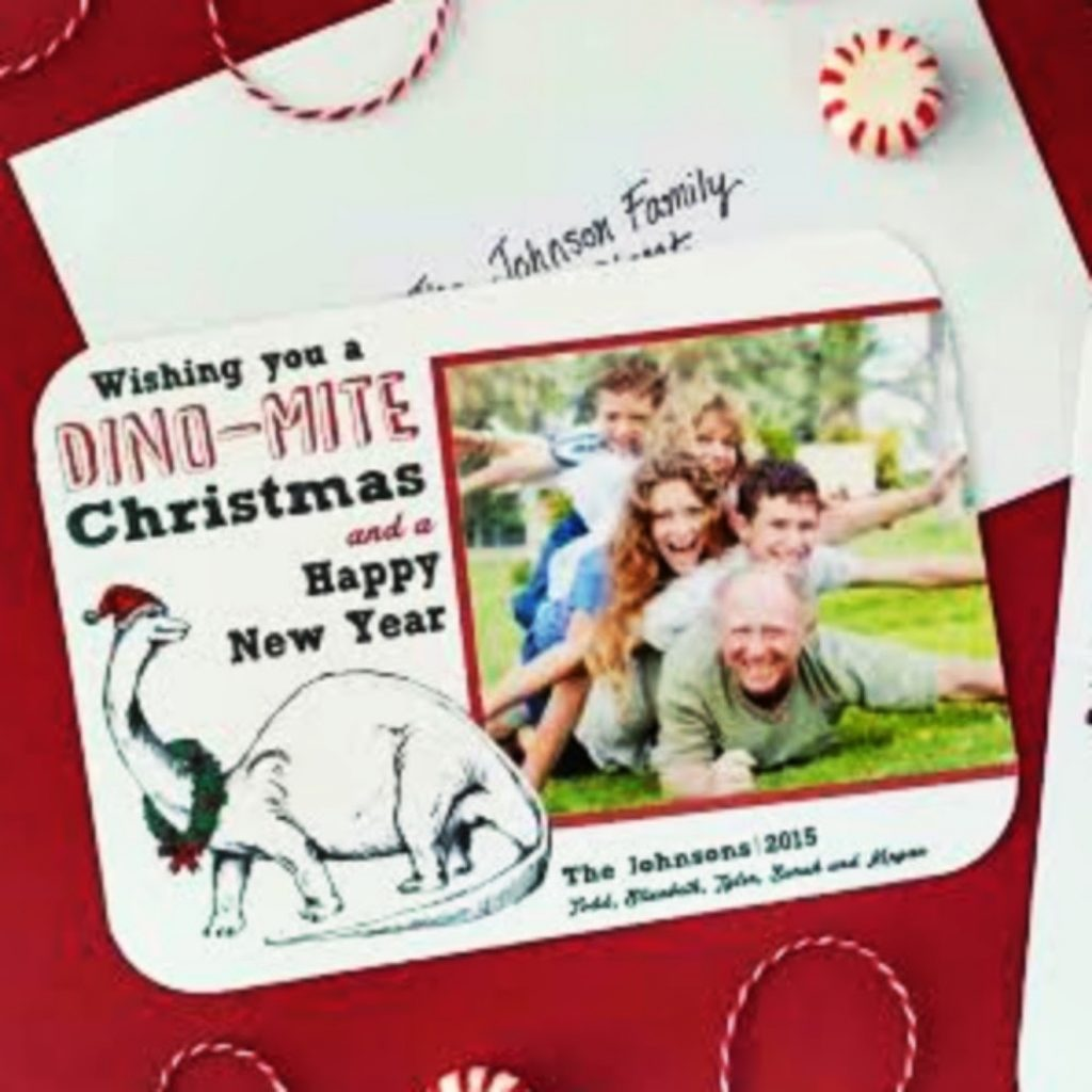 Creative Photo Card Christmas Card Craft For Adults