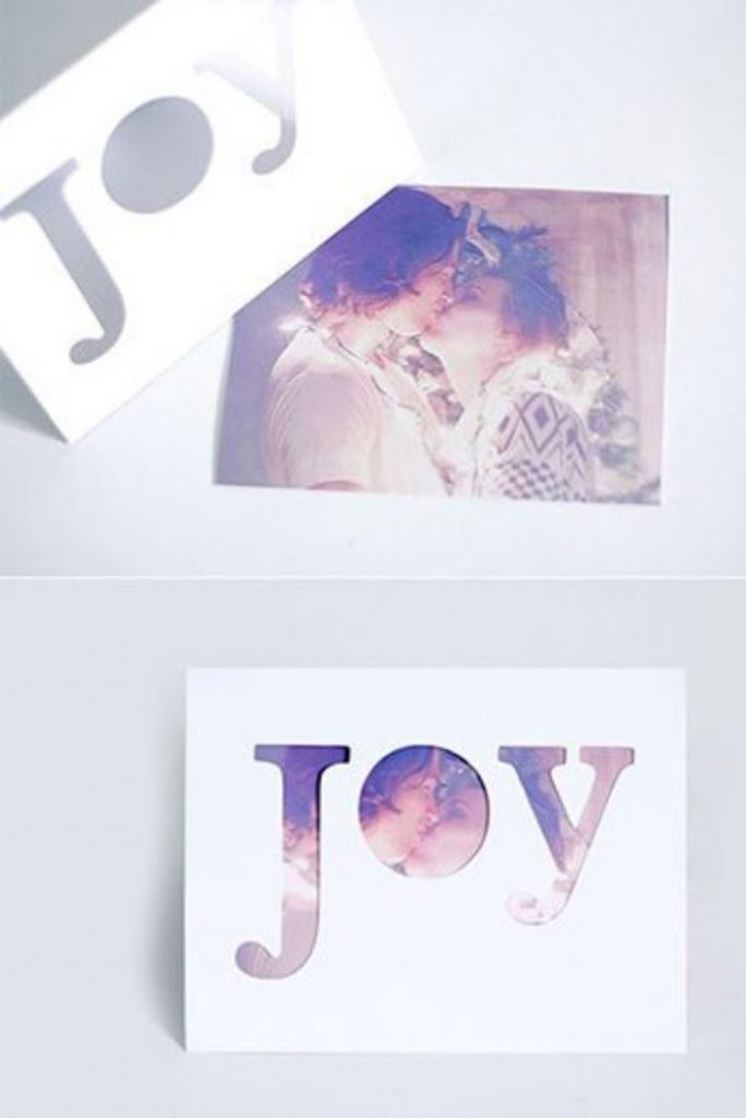 Sentimental Photo Card Christmas Card Craft For Adults