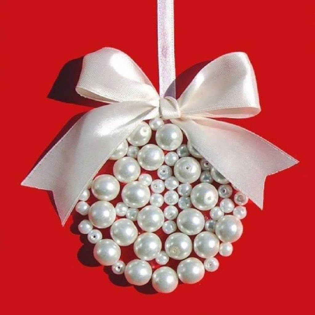 Merry Pearls Christmas Card Craft For Adults