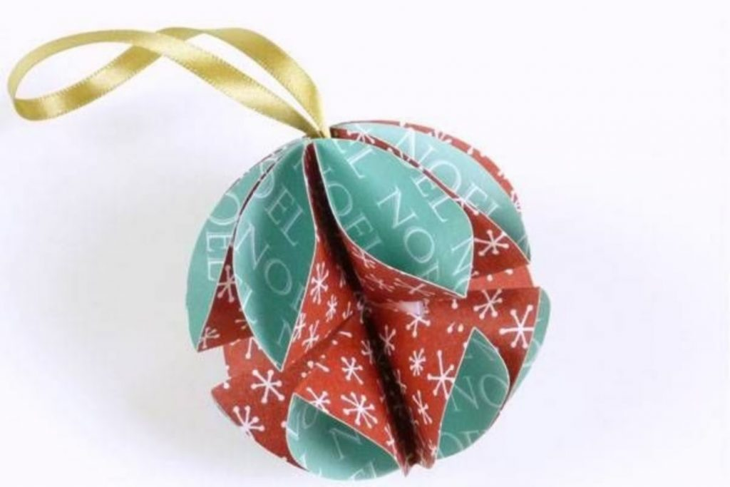 Paper Stacked Starburst - Christmas Decorations Handmade Paper