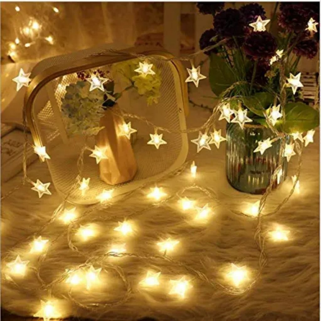 String lights - Christmas Decoration Items Names For Outdoors