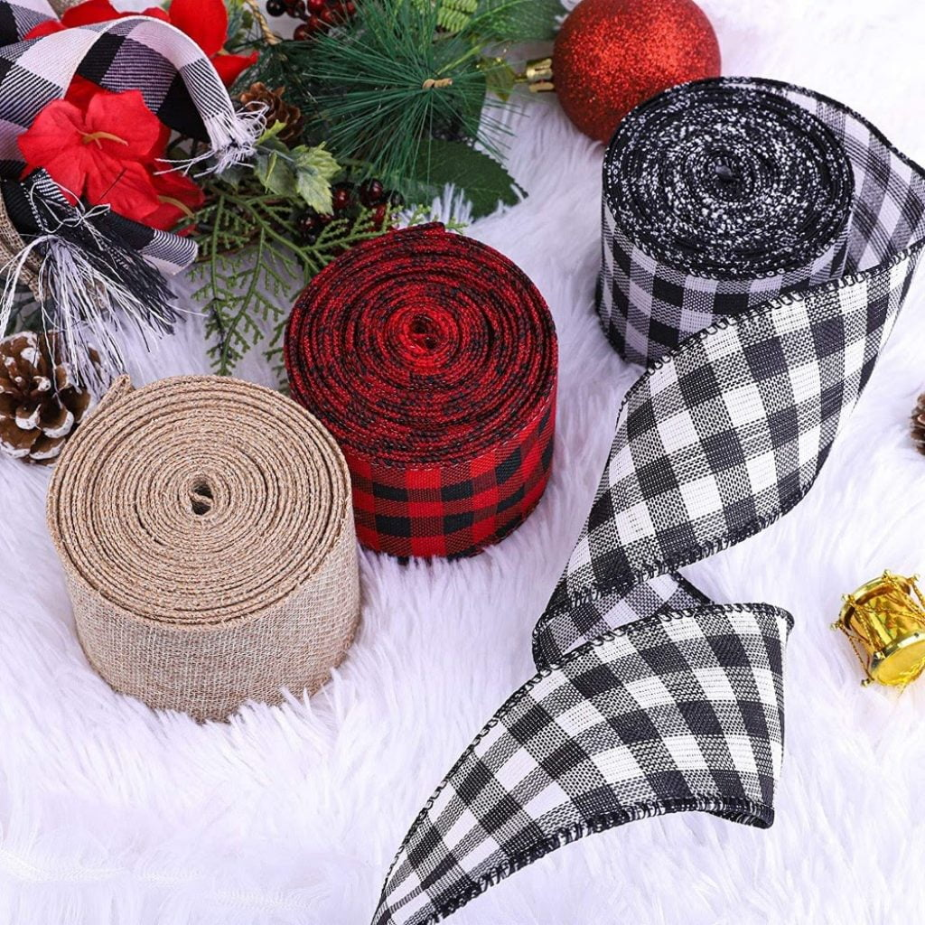 Wide Ribbons - Christmas Tree Decoration Items Names