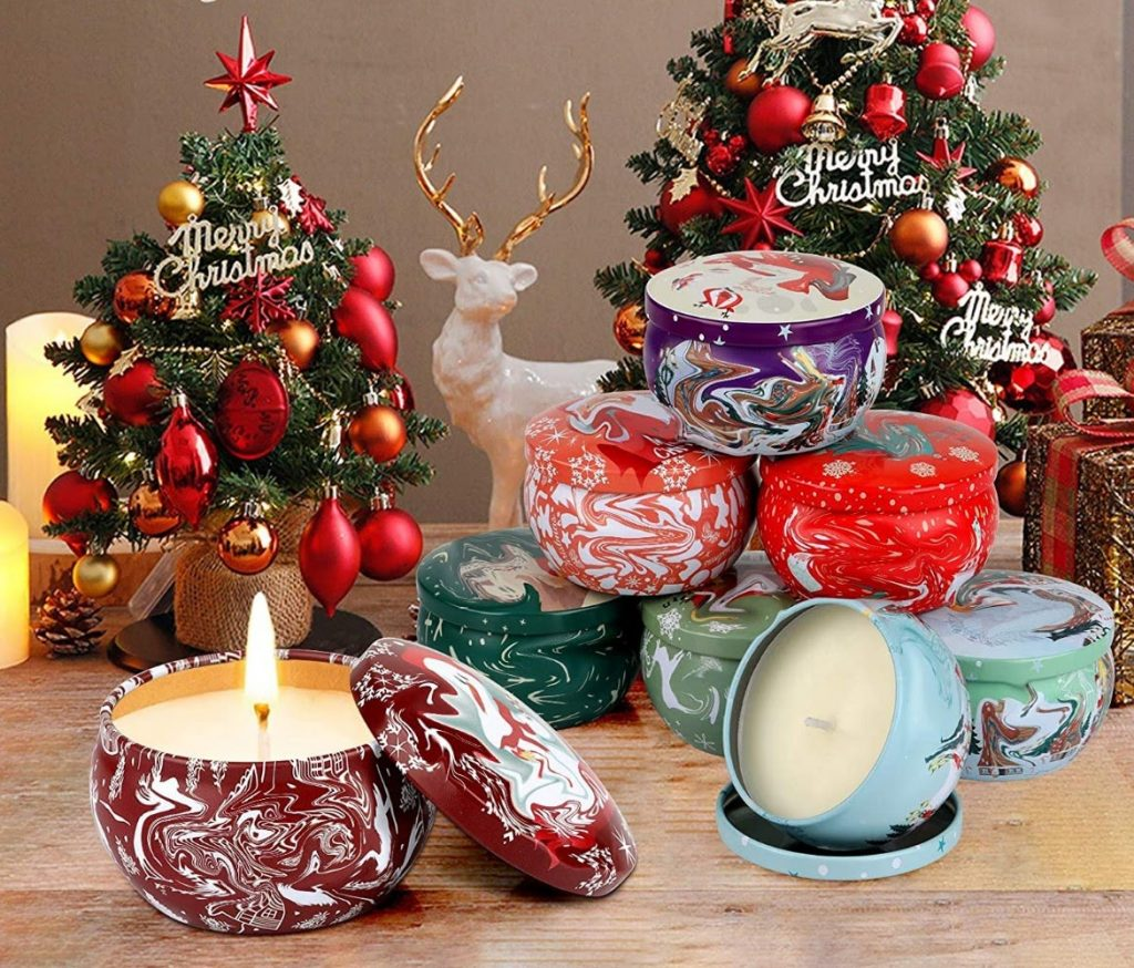 Scented candles - Christmas Tree Decoration Items Names