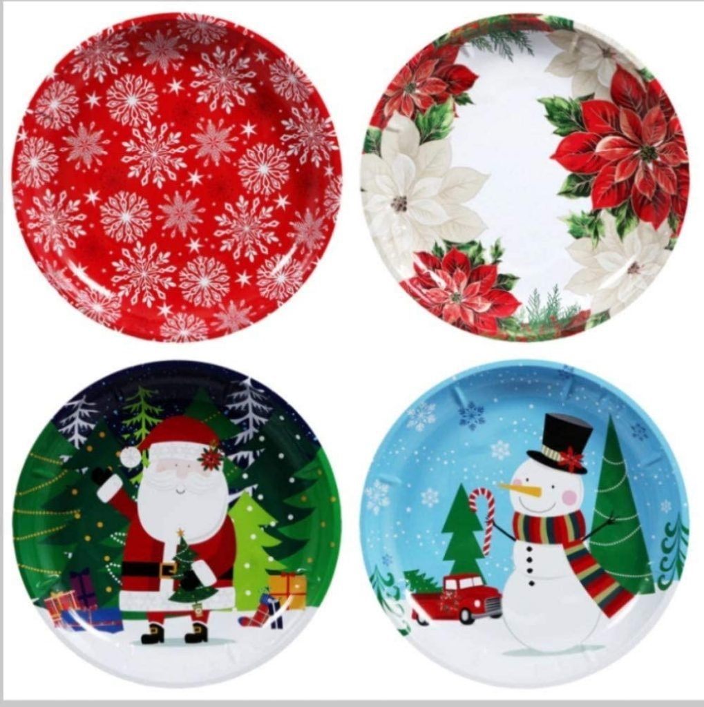 Holiday serving platters - Christmas Tree Decoration Items Names