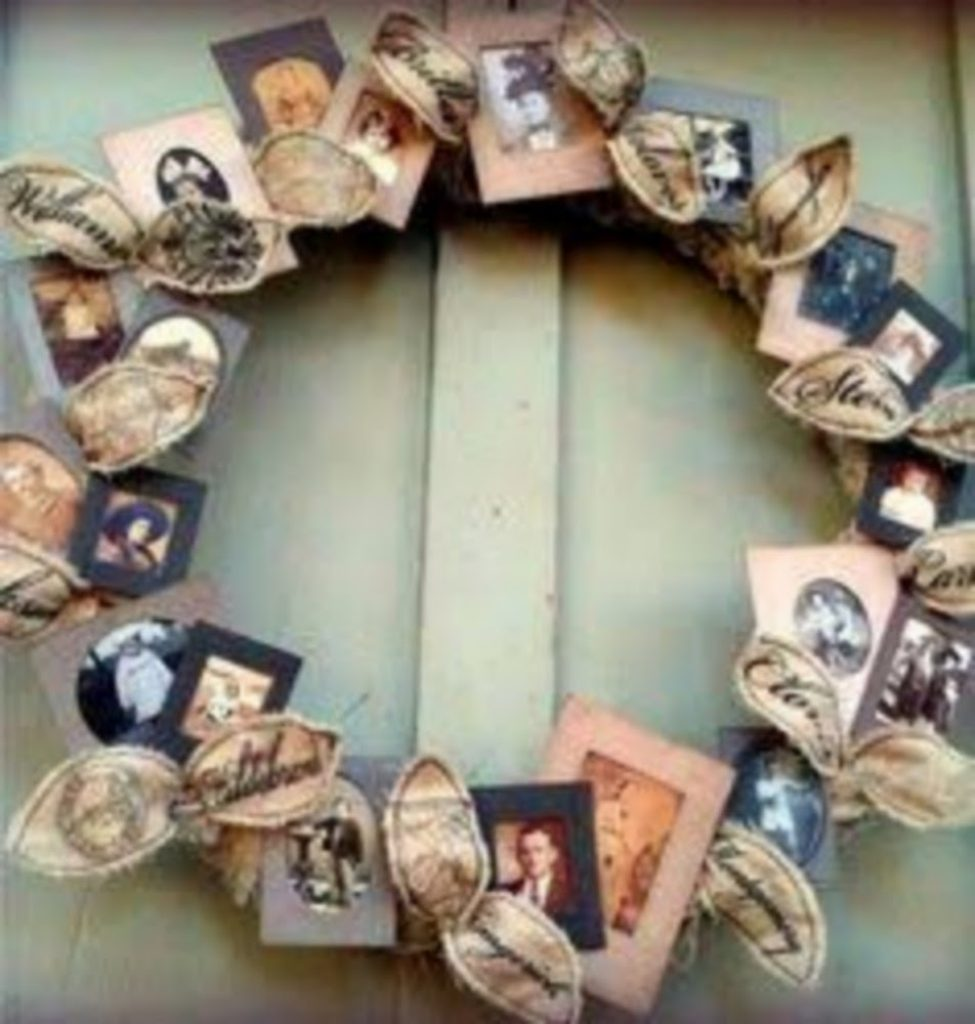 Make your own Photo Wreath - Christmas decorations for dental office