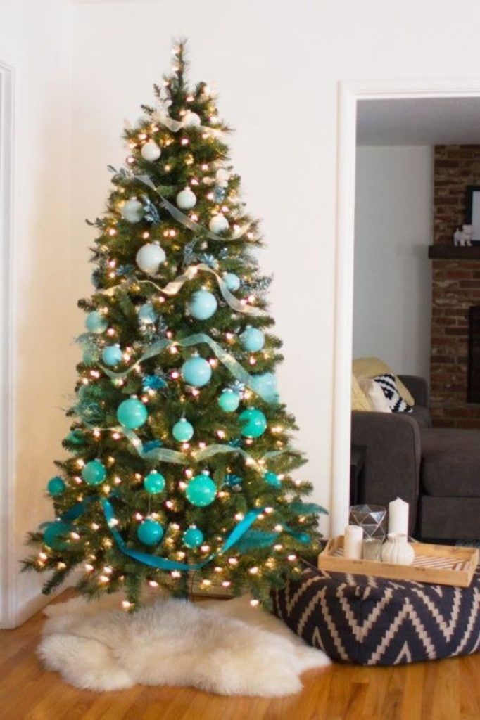 Ombre Tree - christmas decorations for tree