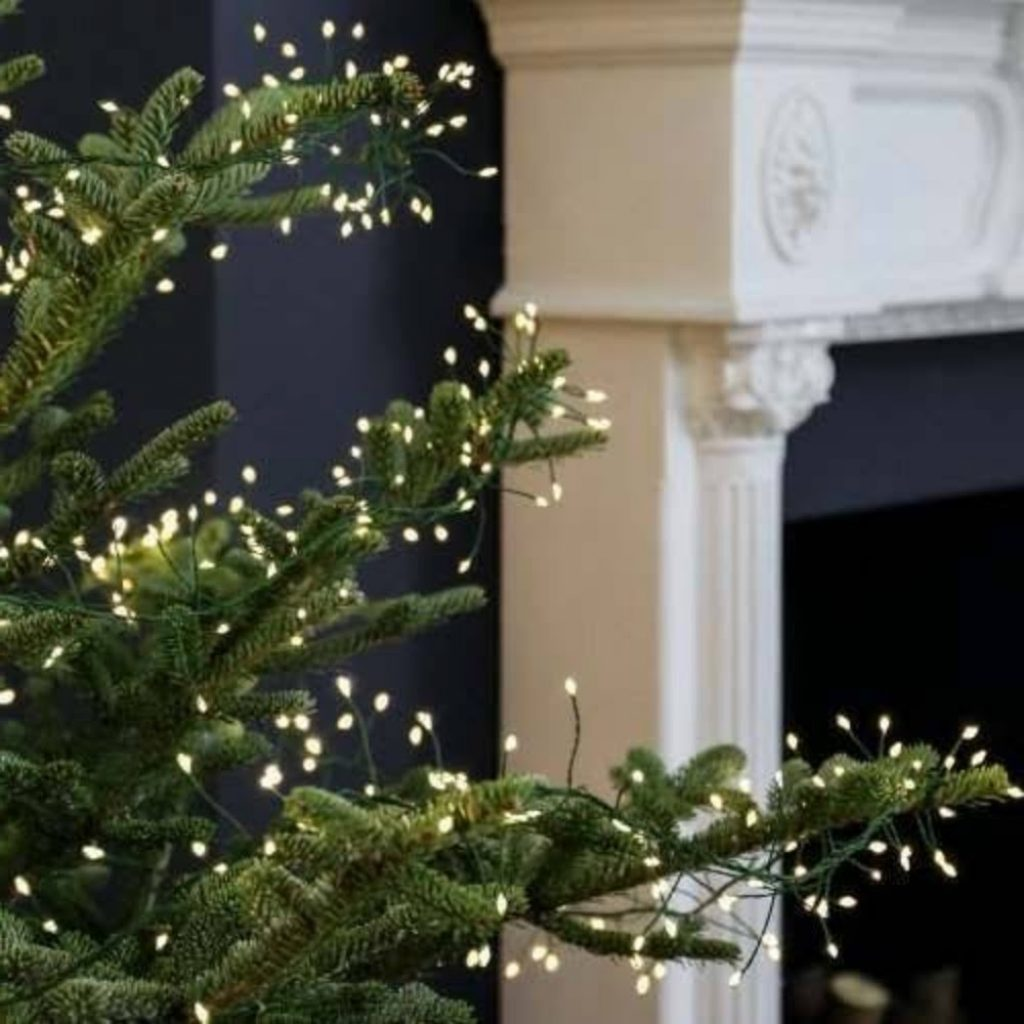 Decorate Christmas Tree For Spring With Mini Ornaments