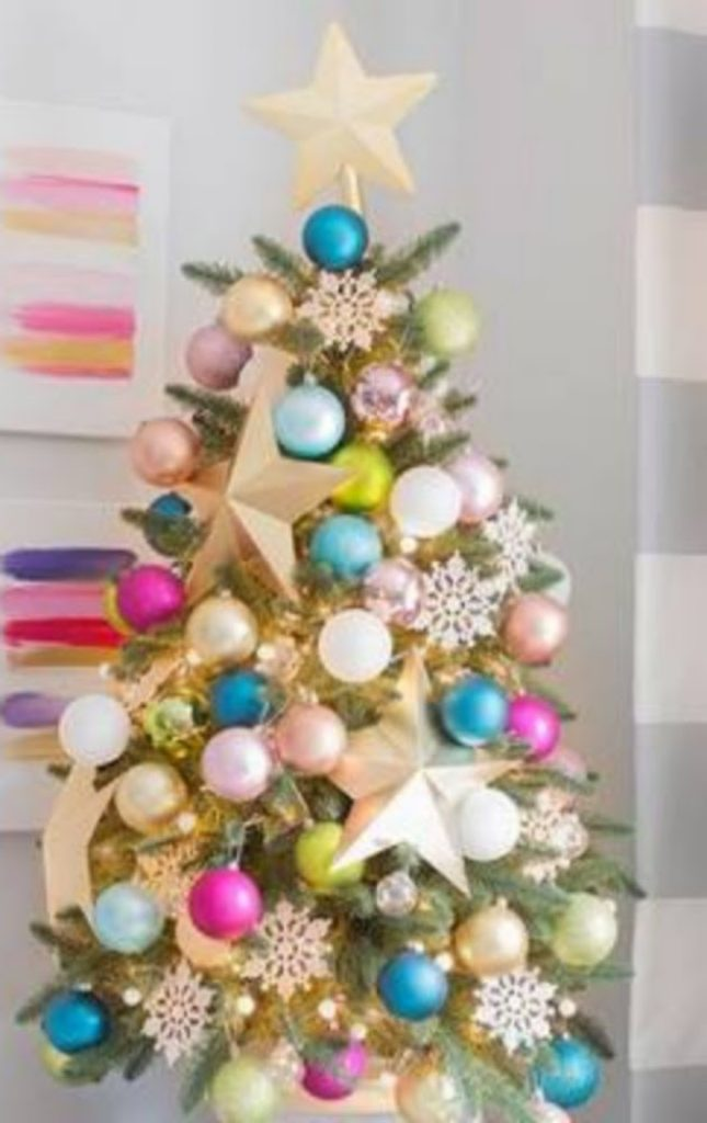 Make It Fun Size - Decorate christmas tree for spring