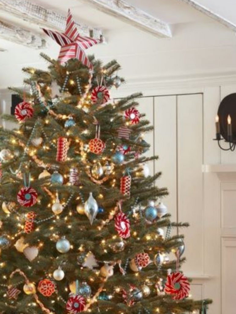 Peppermint Candy Tree - Decorate Your Christmas Tree In A Traditional Style