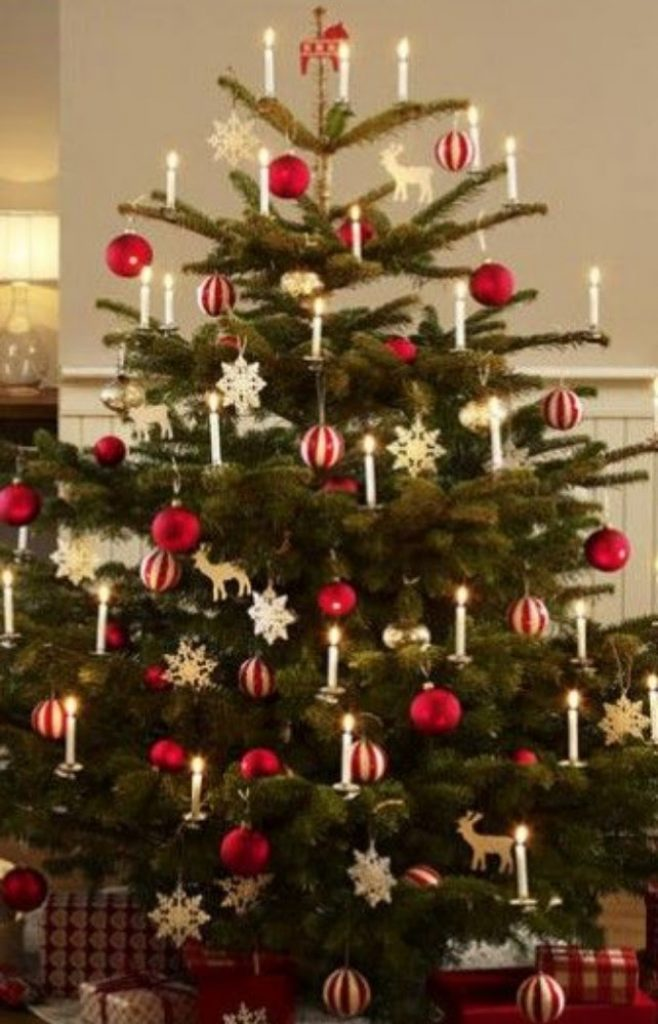 Old-Fashioned Allure - Decorate Your Christmas Tree In A Traditional Style
