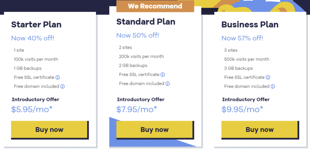 Hostgator Managed WordPress Hosting Plans