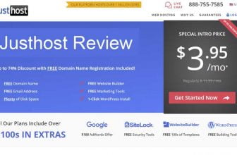 JustHost Web Hosting Review
