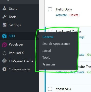 yoast seo settings in wordpress - How to Start a Profitable Blog using WordPress on a budget