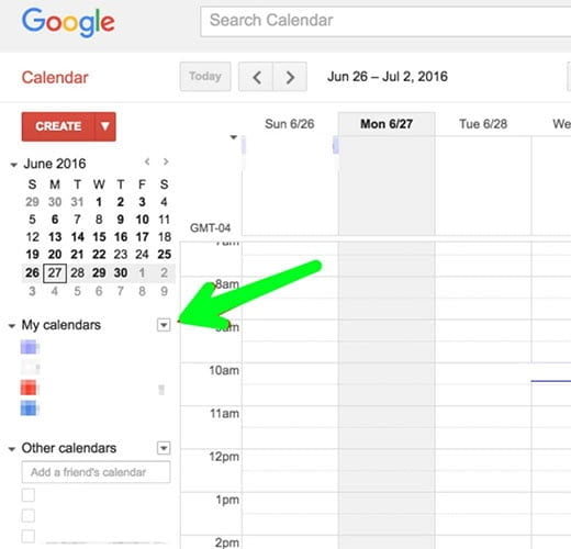 google calender for editorial