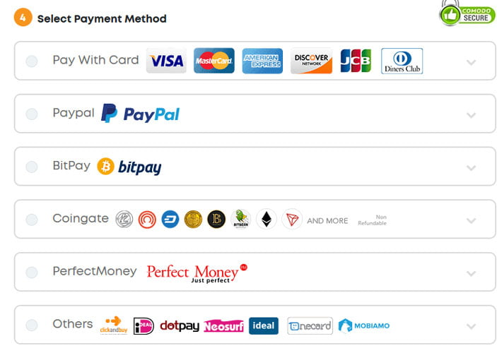 ivacy payment method