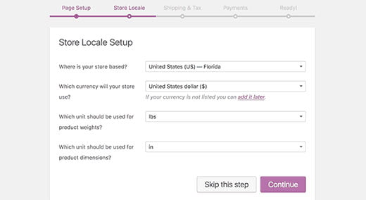 woocommerce currency and location - How to Start an Online Store with WordPress using Woocommerce