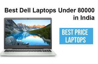 Best Dell Laptops Under 80000 in India